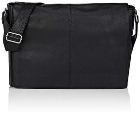 Barneys New York MEN'S FLAP-FRONT MESSENGER BAG