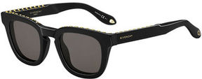 Givenchy Studded Square Sunglasses