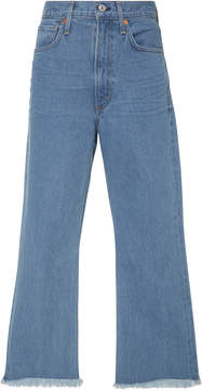 Citizens of Humanity Estella Fray High-Rise Flared Jeans
