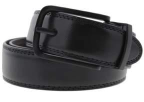 Steve Madden Mens Faux Leather Reversible Casual Belt