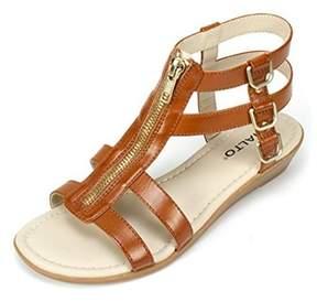 Rialto Womens Gracia Open Toe Casual Strappy Sandals.
