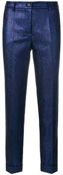 P.A.R.O.S.H. glittered cropped trousers
