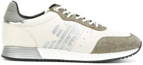 Emporio Armani running logo sneakers