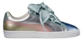 Puma Basket Heart Leather Sneakers