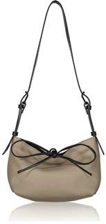 Joanna Maxham Bow Tie Hobo Sand Pebbe Leather (nkl).