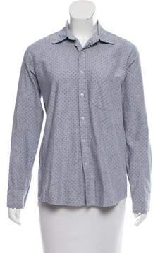 Steven Alan Long Sleeve Button-Up Top