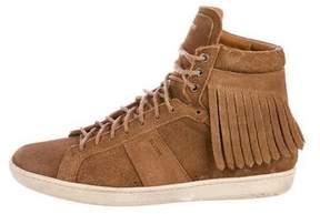 Saint Laurent SL/18H Fringe Sneakers