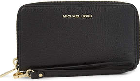 MICHAEL Michael Kors Mercer large grained leather multi-function wallet - ADMIRAL - STYLE
