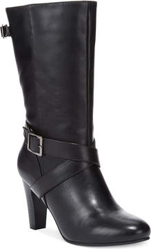 Karen Scott Woman's Violett Mid Shaft Boots Women's Shoes