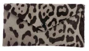 Alaia Ponyhair Envelope Clutch