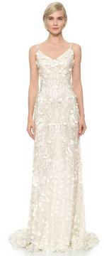 Theia Genevieve Slip Gown