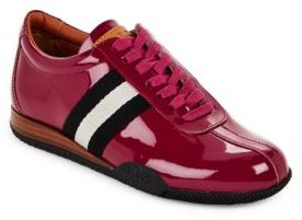 Bally Francisca Leather Lace-Up Sneakers