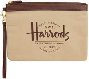 Harrods Sandringham Clutch Bag