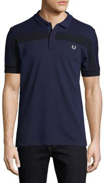 Fred Perry Men's Ribbed Panel Polo Shirt