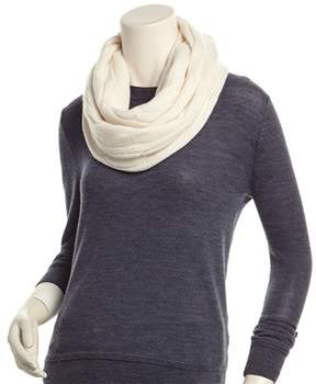 Sofia Cashmere sofiacashmere Sofiacashmere Chunky Cable Cashmere Infinity Scarf.