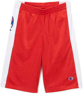 Champion Scarlet Heritage Script Mesh Shorts - Toddler & Boys