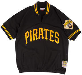 Mitchell & Ness Men's Pittsburgh Pirates Bp Mesh Jersey Top