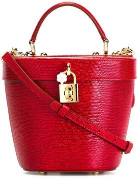 Dolce & Gabbana small basket tote - RED - STYLE