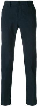 Jeckerson slim-fit subtle check trousers