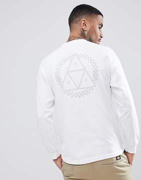 HUF Blackout Long Sleeve T-Shirt With Sleeve Print