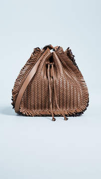 Michael Kors Maldives Shoulder Bag with Drawstring - ACORN - STYLE