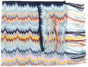 Missoni zig-zag patterned scarf