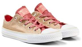 Converse Gold Kids Chuck Taylor All Star Trainers