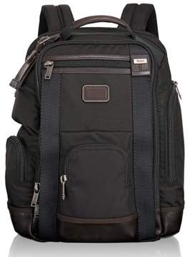 Tumi Men's Alpha Bravo Shaw Deluxe Backpack - Black