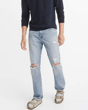 Abercrombie & Fitch Ripped Bootcut Jeans