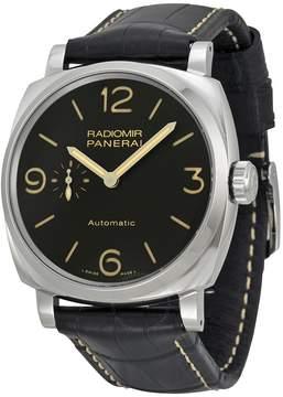 Panerai Radiomir 1940 Automatic Black Dial Black Leather Men's Watch
