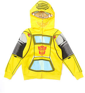 Freeze Transformers Bumblebee Yellow Classic Mask Hoodie - Toddler