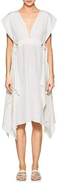 Derek Lam Women's Silk Crepe Wrap Dress