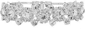 Cezanne Crystal Cluster Cuff Bracelet