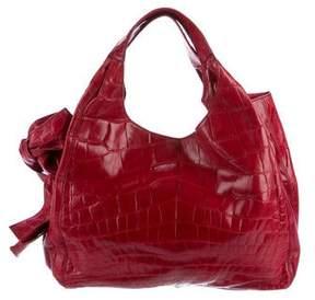 Valentino Alligator Nuage Bag