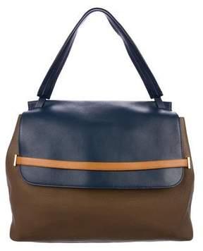 The Row Sidekick Leather Shoulder Bag