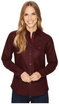 Fjallraven Ovik Re-Wool Shirt Women's Long Sleeve Button Up