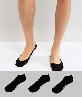 Pringle 3 Pack Invisible Socks