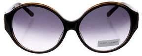 Judith Leiber Floral Round Sunglasses