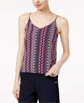 Armani Exchange Printed Cropped Camisole