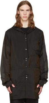 Damir Doma Brown Silk Jim Coat