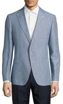 Robert Graham Modern Fit Linen-Blend Sportcoat