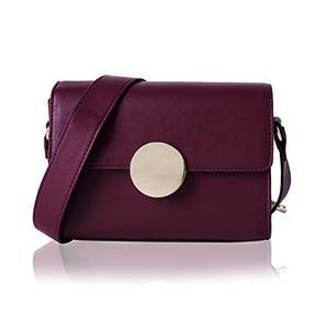 Co The Lovely Tote Women's Circular Buckle Crossbody Bag Shoulder Bag Purse