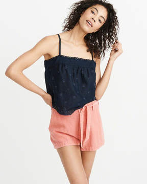 Abercrombie & Fitch Embroidered Cami