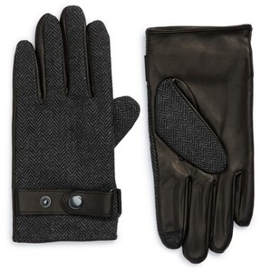 Nordstrom Men's Herringbone Gloves