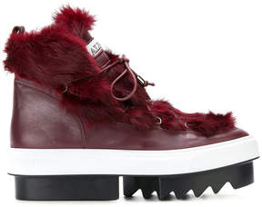 Albano chunky platform lace-up boots
