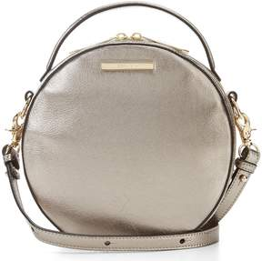 Brahmin Moonlit Collection Metallic Lane Canteen Crossbody Bag