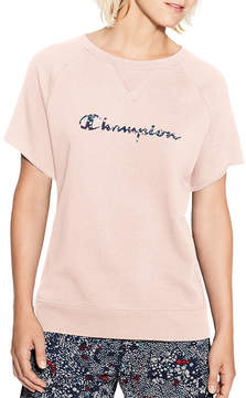 Champion Short Sleeve Sweatshirt