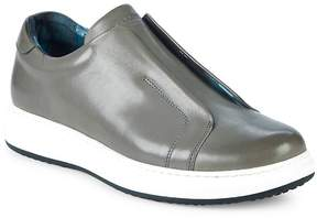 Karl Lagerfeld Men's Leather Slip-On Sneakers