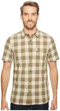 Fjallraven High Coast Big Check Shirt Short Sleeve Men's Short Sleeve Button Up