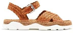 Stella McCartney Woven-rope espadrille sandals